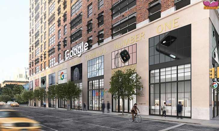 Google Store แห่งแรกในนิวยอร์ค